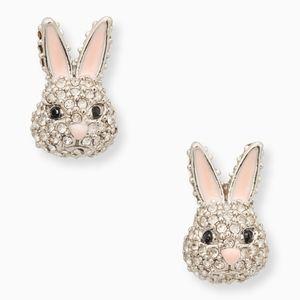 NEW Kate Spade Bunny Rabbit Stud Earrings